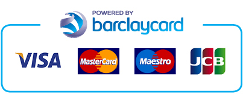 Secure payments powered by Barclaycard